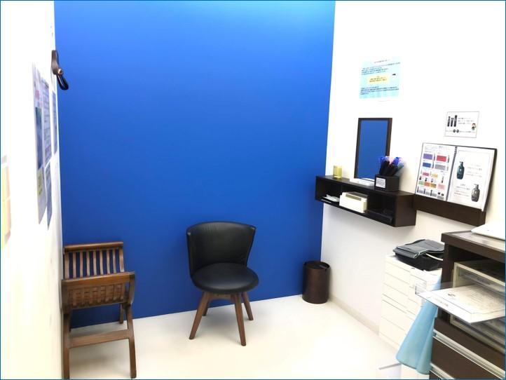 Dクリニック東京の写真撮影室