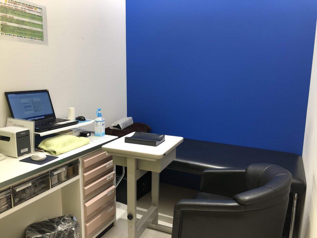 Dクリニック東京の血液検査室