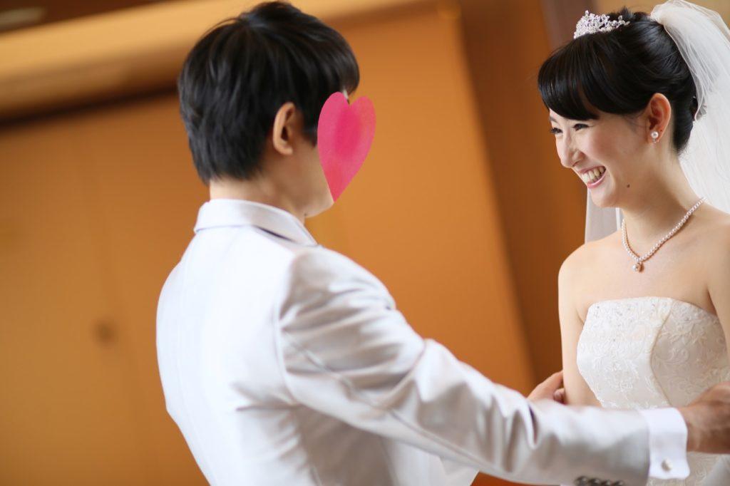 ハゲからの結婚式