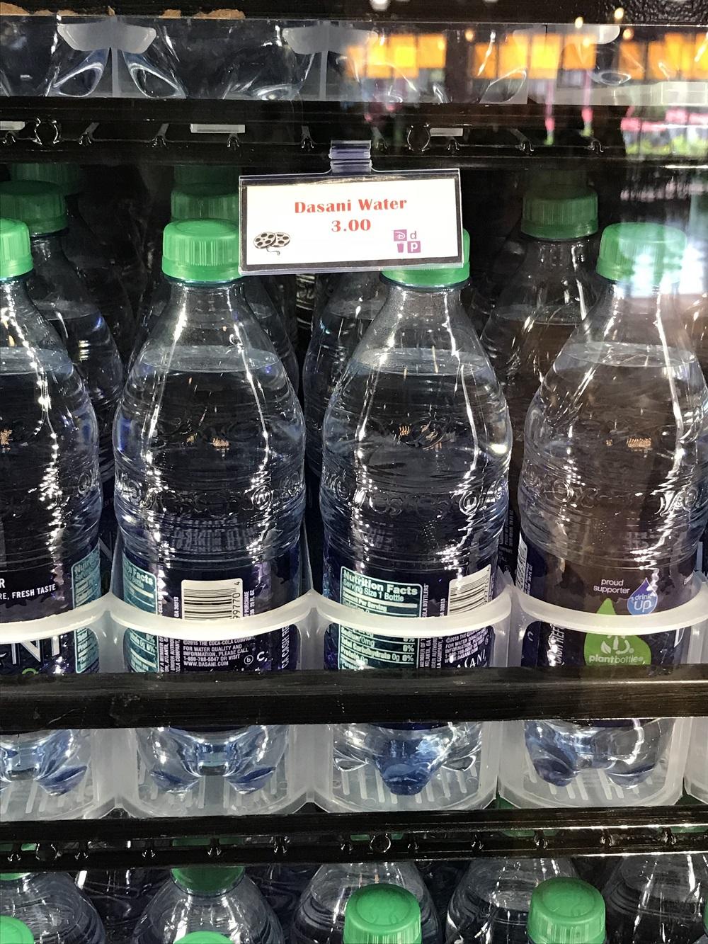 ディズニーワールドの水は3ドル