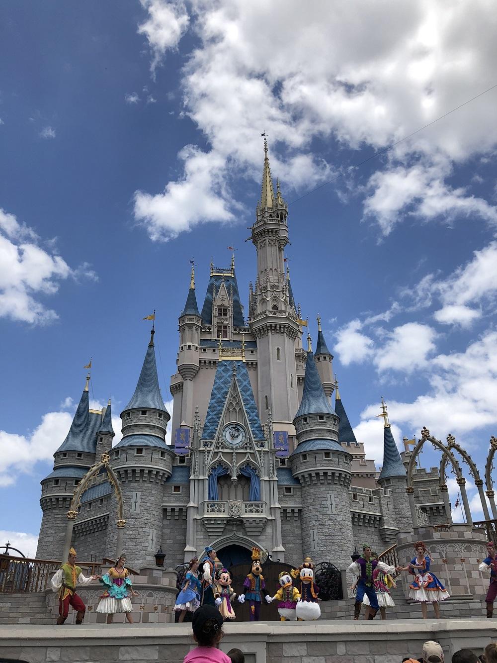 フロリダのシンデレラ城