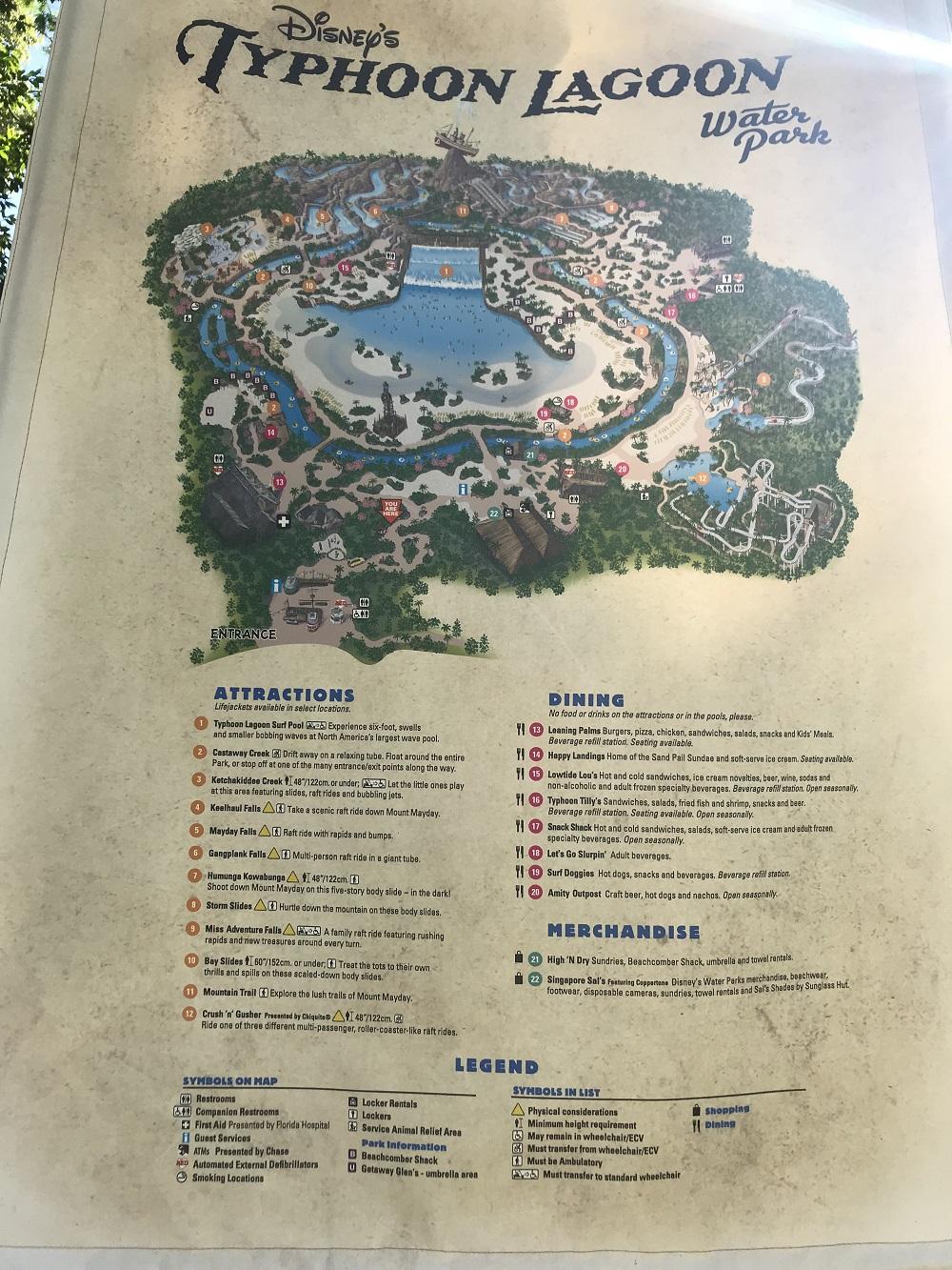 タイフーンラグーン地図