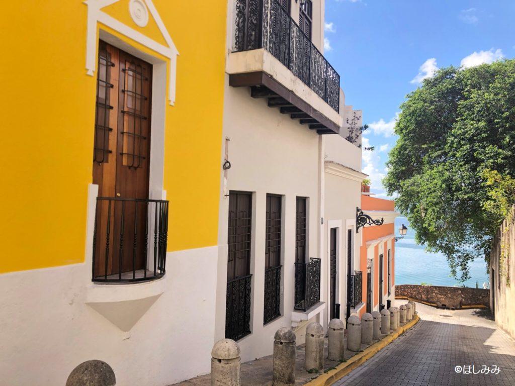 プエルトリコ サンファンの街並み