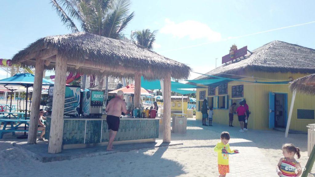 ココケイ内の無料のレストラン