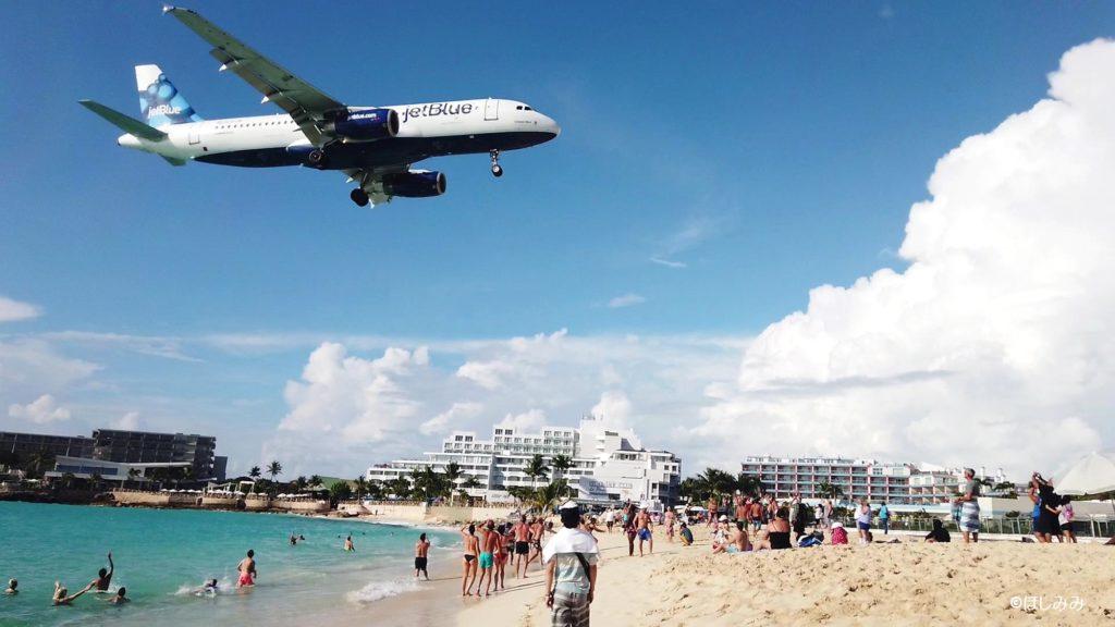 世界一危険なビーチ「マホビーチ」