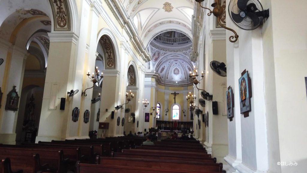 サンファン大聖堂の内部