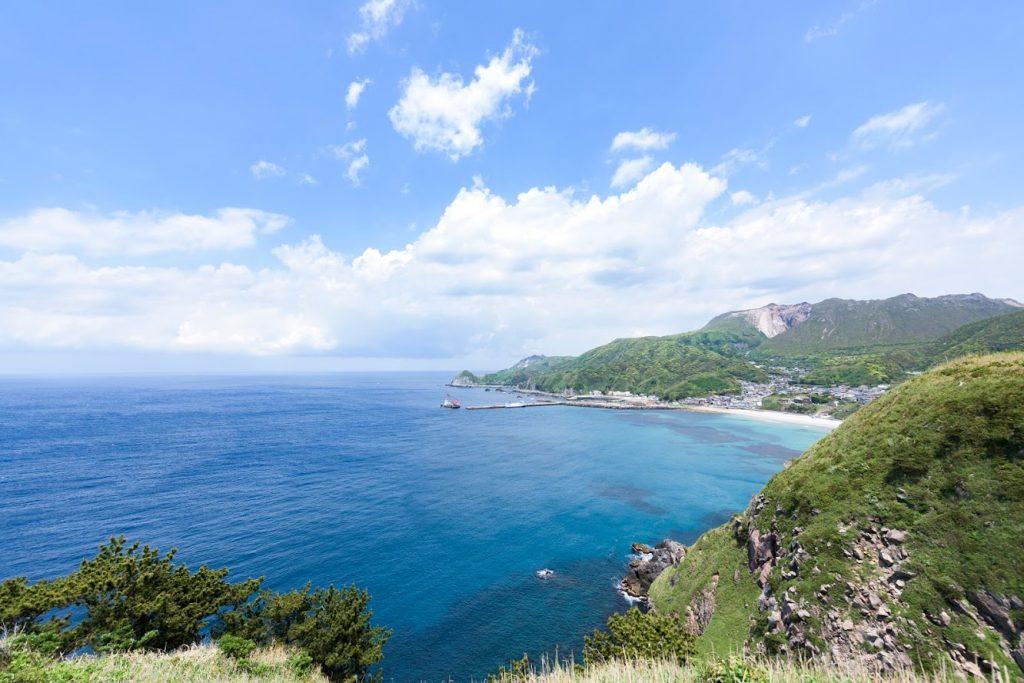 神津島 ありま展望台