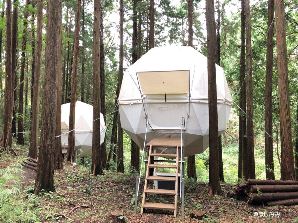 バチェラー3ロケ地球体テント