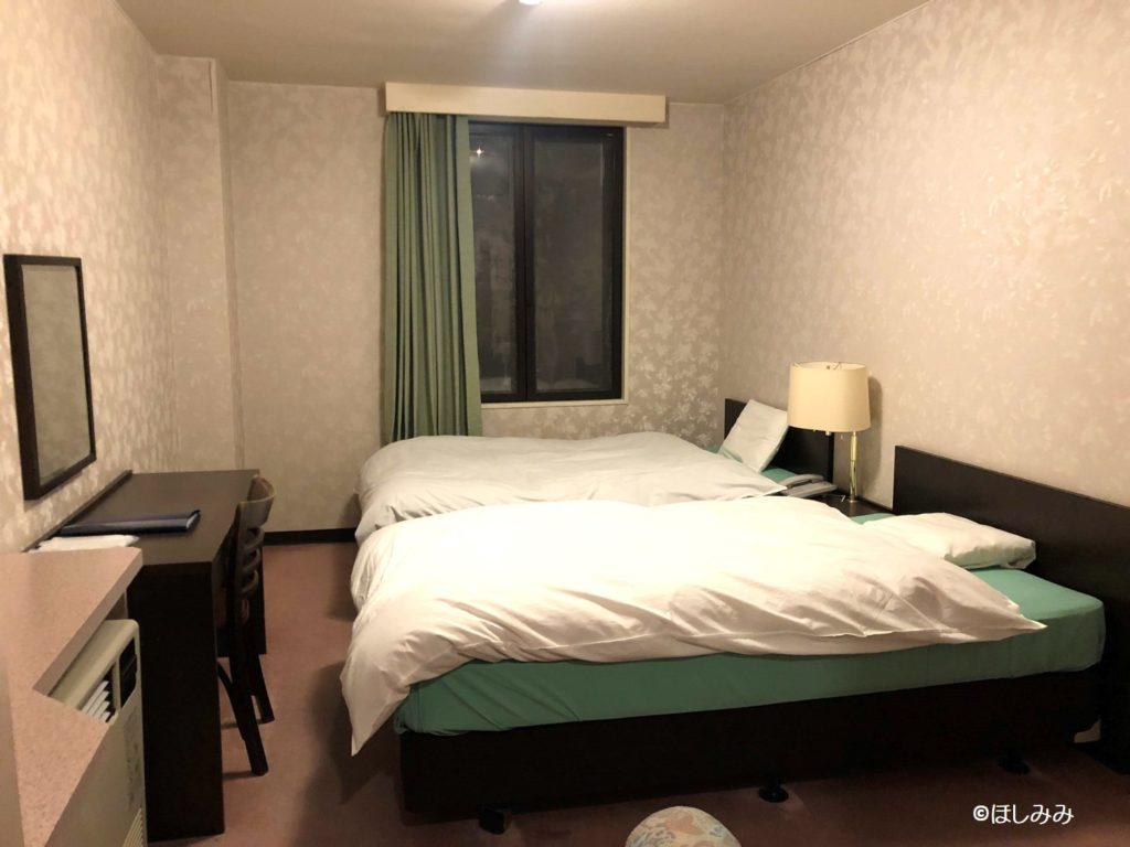 ホテルヴィラチェリオ客室