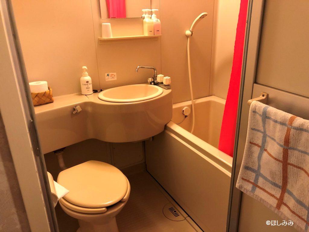 ホテルヴィラチェリオ バス・トイレ