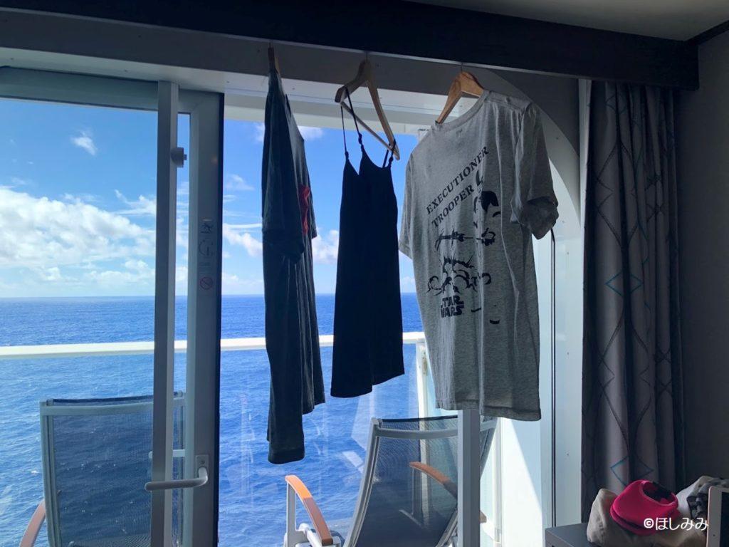 ロイヤルカリビアン船の洗濯事情
